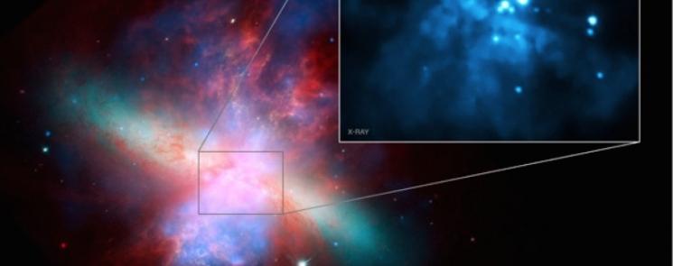 Черная дыра M82 X-1 в созвездии Большой Медведицы